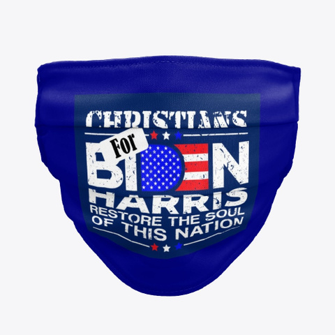 Christians for biden and harris face mask