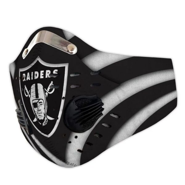 Raiders filter face mask