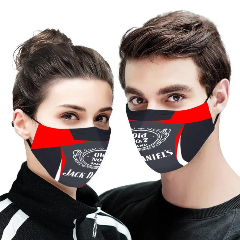 Jack daniel's face mask
