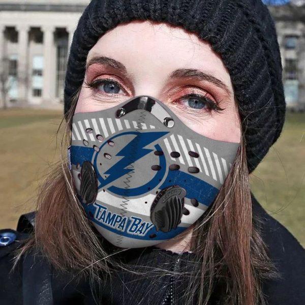 Tampa bay filter face mask 1