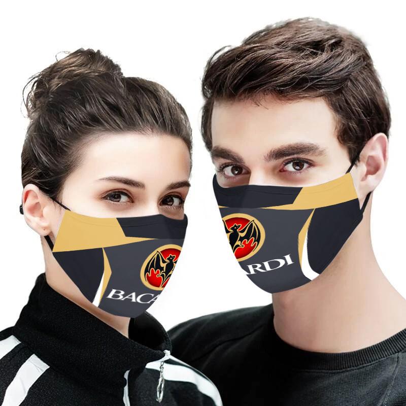 Bacardi face mask