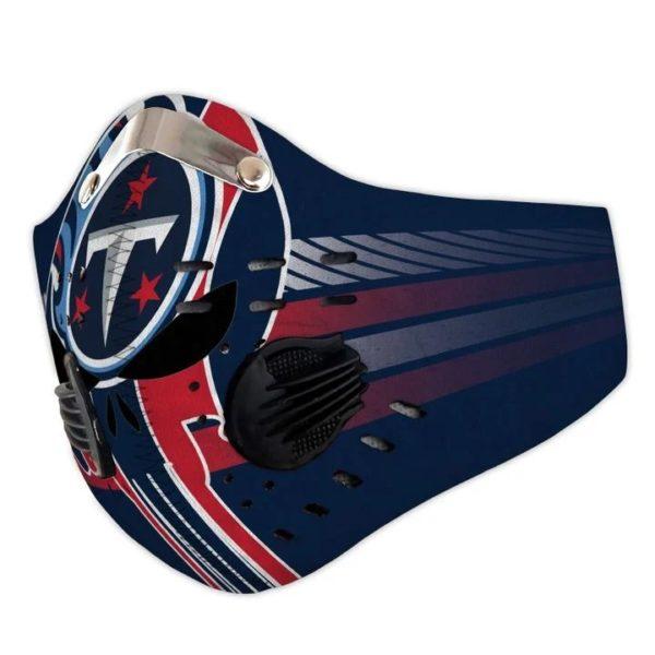 Tennessee Titans punisher skull filter face mask